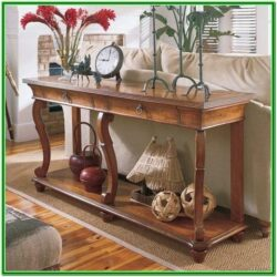 Living Room Sofa Table Decorating