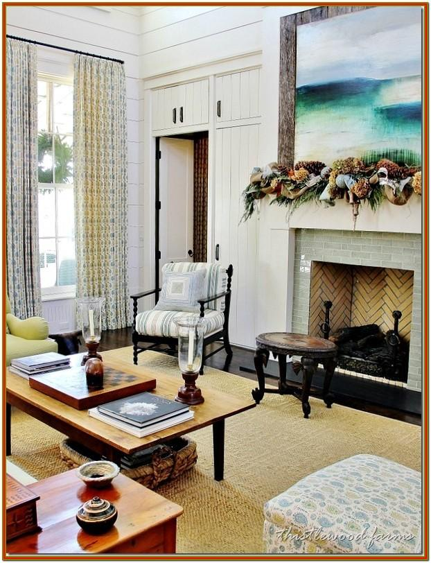 Living Room Southern Living Home Decor