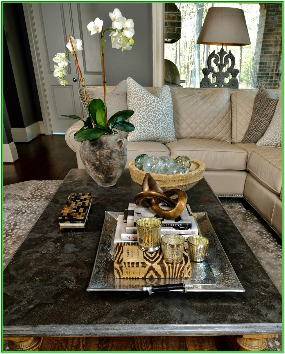 Living Room Table Top Decor