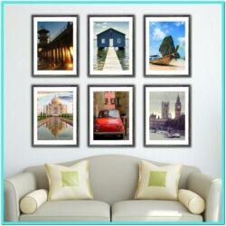 Living Room Travel Wall Decor