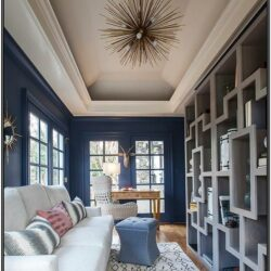 Living Room Tray Ceiling Paint Ideas