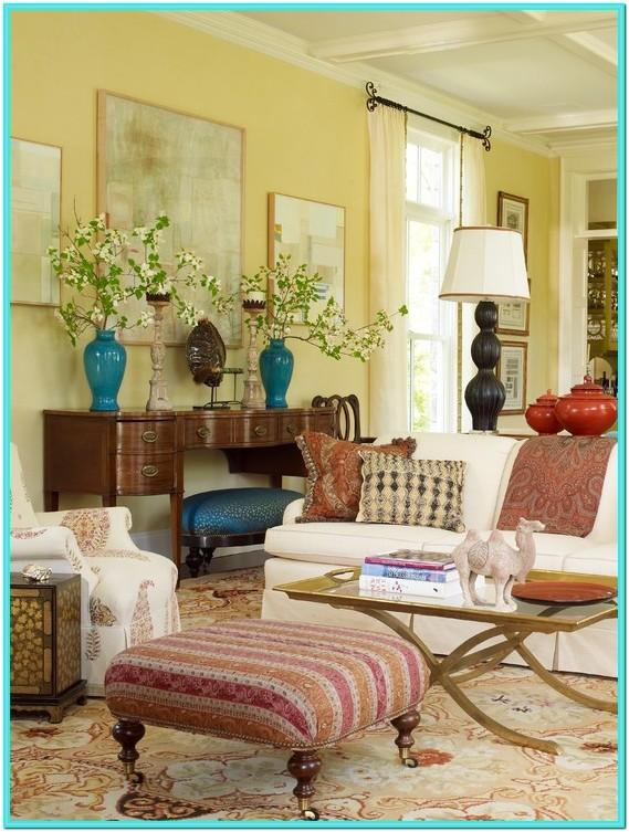 Living Room Victorian Decorating Style