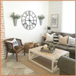 Living Room Wall Rustic Decor