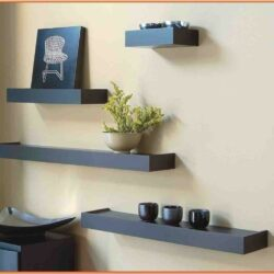 Living Room Wall Shelves Decor Ideas