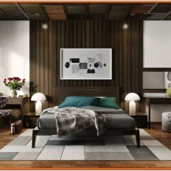 Living Room Wall Wood Decor Ideas