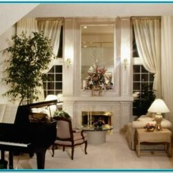 Living Room With Piano Decorating Ideas 1