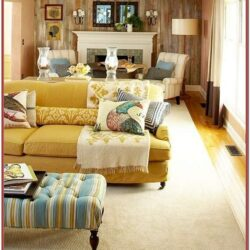 Long Narrow Living Room Decor Sofa