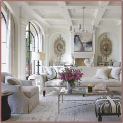 Luxe Spanish Influenced Living Room Decor