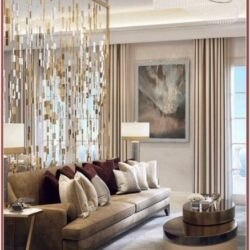 Luxury Living Room Christmas Decorations