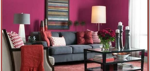 Magenta Living Room Decor