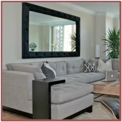 Male Decor Large Mirror Living Room