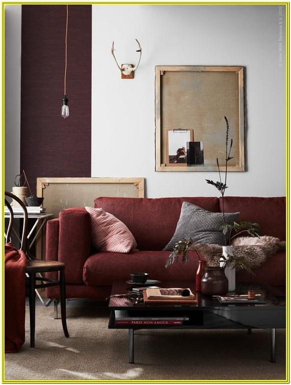 Maroon Burgundy Living Room Ideas