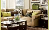 Mocha Sofa Living Room Ideas