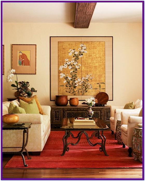 Modern Asian Living Room Decor Hawaii