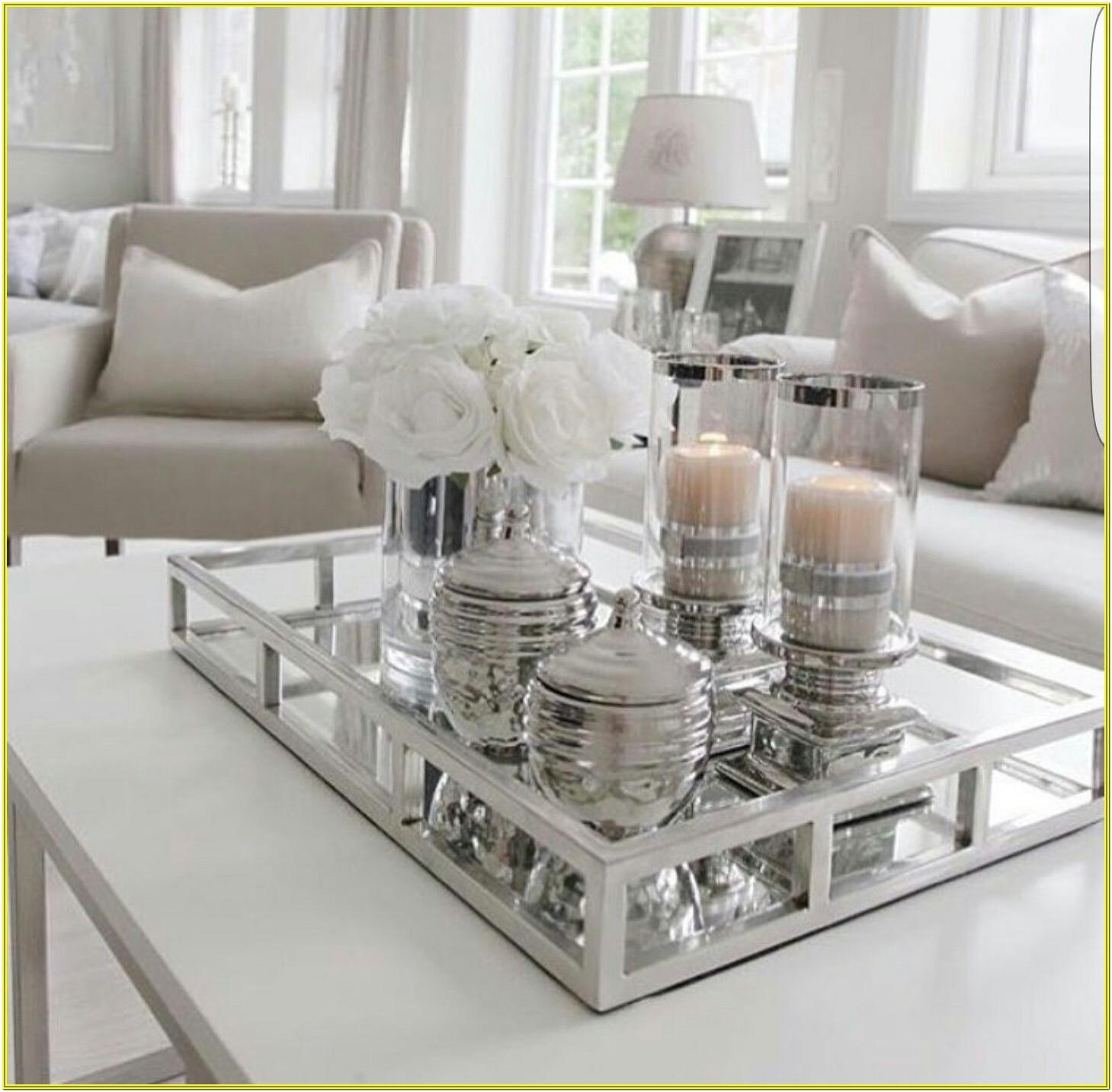 Modern Living Room Center Table Decoration Ideas