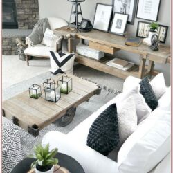 Modern Rustic Living Room Wall Decor
