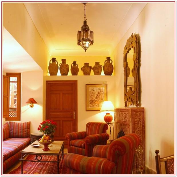 Moroccan Themed Living Room Decor