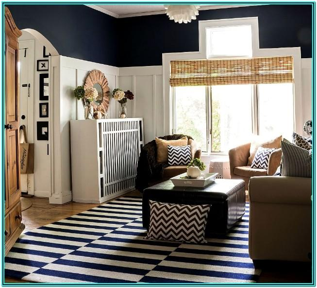 Navy Blue And Tan Living Room Decorating Ideas