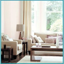 Pastel Pink Living Room Decor 1