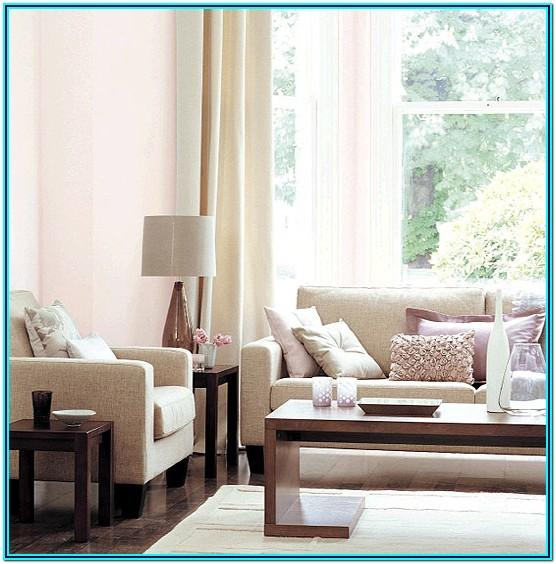 Pastel Pink Living Room Decor