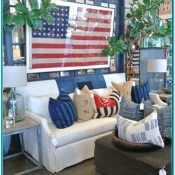 Patriotic Living Room Decor 1