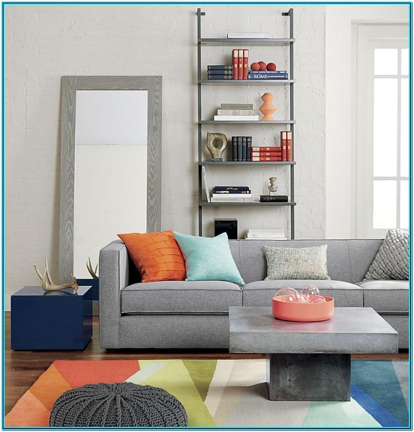 Peach And Gray Living Room Decor