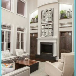 Pics Of Large Living Room Wall Decorated 1