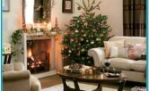 Pics Of Living Rooms Decorated For Christmas