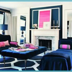 Pink And Blue Living Room Decor