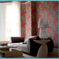 Pink And Brown Living Room Decor 1
