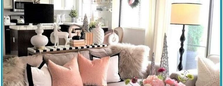 Pink And Grey Living Room Decor