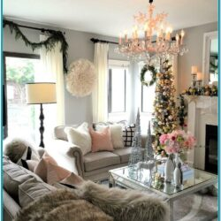Pinterest Living Rooms Decorated For Christmas 1