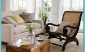Plantation Style Living Room Decor