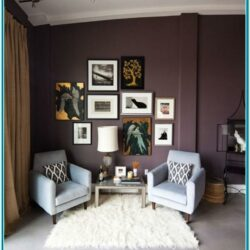 Plum Living Room Accent Decor