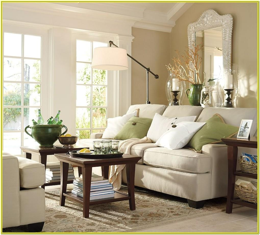 Pottery Barn Living Room Decorating Ideas