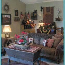Primitive Christmas Decor For Living Room Ceiling