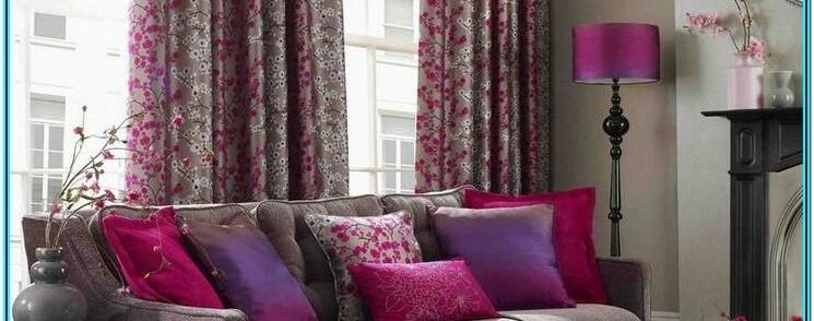 Purple And Brown Living Room Decor