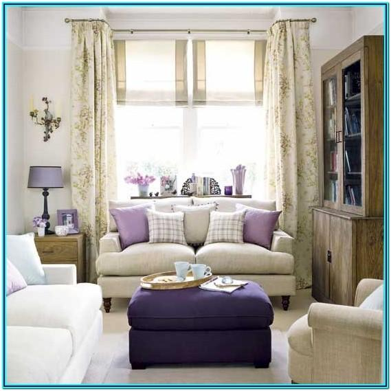 Purple Decoration Living Room