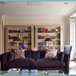 Purple Pearls Decor Living Room