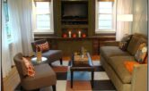 Rectangular Living Room Layout Ideas With Tv