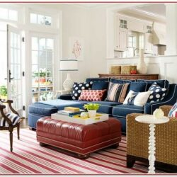 Red And Blue Living Room Decorating Ideas
