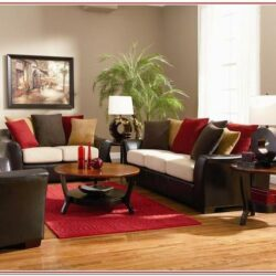 Red And Gold Living Room Decorating Ideas 1
