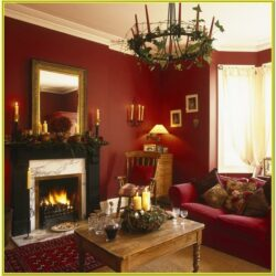 Red And Gold Living Room Ideas