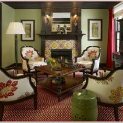 Red And Green Living Room Decorating Ideas