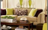 Red Tan And Brown Living Room Ideas