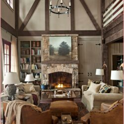 Rustic Cozy Small Living Room Decor Scaled