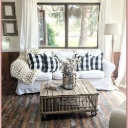 Rustic Farm Living Room Decorating Ideas