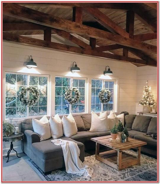 Rustic Interior Decorating Ideas For Living Rooms