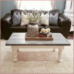 Rustic Living Room Coffee Table Decor