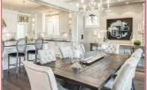 Rustic Living Room Dining Room Decorating